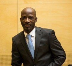 Charles Blé Goudé at his first appearance at the ICC. ICC-CPI.