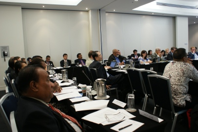 Participants at the summit on the Rome Statute and Kampala Amendments. © Rene Holbach/Permanent Mission of Liechtenstein to the United Nations.