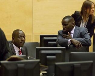 William Ruto and Joshua Sang