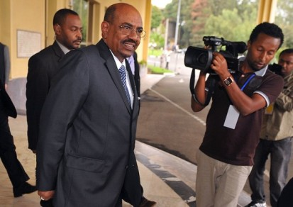 The ICC has requested Ethiopia assist in arresting Omar Al-Bashir three times in the past seven months. © Simon Maina/AFP/GettyImages