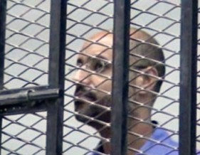 Saif Gaddafi is currently being detained by a militia in Zintan, Libya. © AP