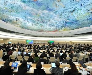 El Examen Periódico Universal es una verdadera oportunidad para que la sociedad civil promueva la CPI entre países. © Consejo de Derechos Humanos de la ONU