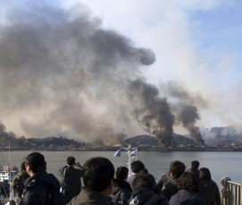 South Korea's Yeonpyeong Island was bombarded in November 2010, killing four and injuring 19. © Reuters