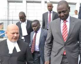 Proceedings in the Ruto/Sang case were postponed due to witness-related issues.  © Standard Media
