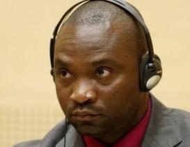 Germain Katanga during his trial at the ICC. © AFP