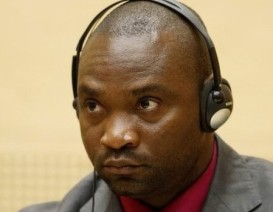 Germain Katanga during his trial at the ICC. © AFP