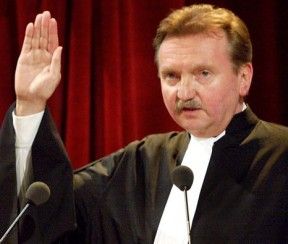 Hans-Peter Kaul was one of the first elected ICC judges. © ICC