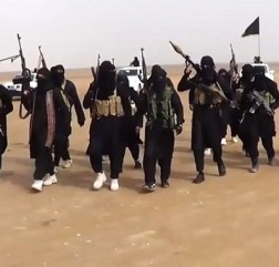 ISIS militants in Iraq. © Telegraph