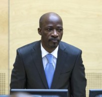 Charles Blé Goudé made his initial appearance before ICC judges in March 2014. © AP