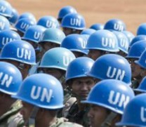 UN peacekeepers took over from AU forces in the CAR this week. © FIDH
