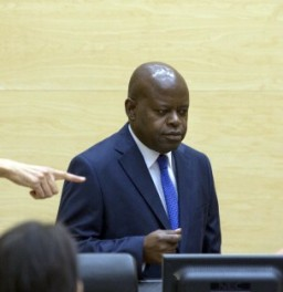 Congolese lawmaker Fidèle Babala Wandu is accused of tampering with witnesses in the trial of Jean-Pierre Bemba. © AFP