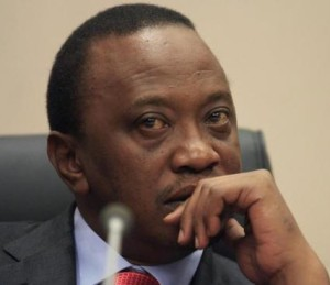 Uhuru Kenyatta attend an ICC hearing. © Reuters/Tiksa Negeri