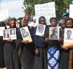 The families of Habré's alleged victims have fought to bring him to justice for more than two decades. © 2005 ATPDH