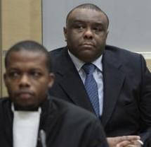 Jean-Pierre Bemba in an ICC courtroom in 2010. © REUTERS/Peter Dejong