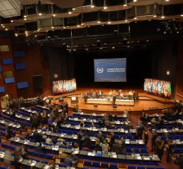 Delegates gather at the 12th session of the ICC Assembly of States Parties in 2013. © CICC
