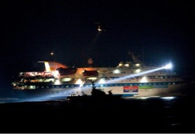 The Mavi Marmara was raided by Israeli soldiers in 2010. © Uriel Sinai