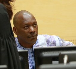 Thomas Lubanga at the Appeals Chamber hearing on 1 December 2014. © ICC