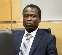 LRA commander Dominic Ongwen at the ICC. © ICC-CPI