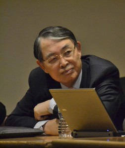 ICC President Judge Sang-Hyun Song, a strong proponent of increased ICC membership among Asian states. © CICC/Gabriella Chamberland