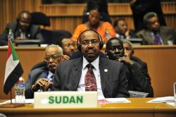 Sudanese President Omar Al-Bashir is accused of war crimes, crimes against humanity and genocide in Darfur. © U.S. Navy