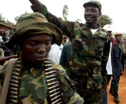 Thomas Lubanga was convicted of using child soldiers. © Reuters