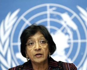 Former UN human rights chief Navi Pillay. © Mada Masr