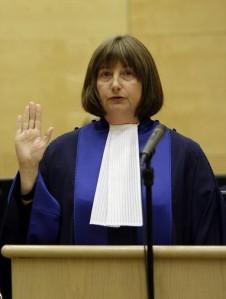 Newly elected ICC president, Judge Silvia Fernández de Gurmendi. © AP
