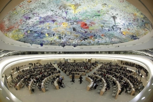 The UN Human Rights Council in Geneva. © Reuters/Denis Balibouse