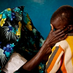 A victim of sexual violence from the DRC. © Peter Muller