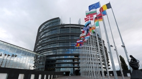 The European Parliament in Strasbourg, France. © AFP Photo/Frederick Florin