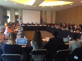 Civil society and government representatives at the Mexico-EU seminar in Mexico City. © Irish Embassy Mexico