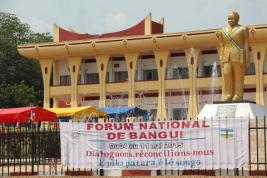 The national forum on reconciliation in the CAR was held this week in Bangui. © Afrique News Info