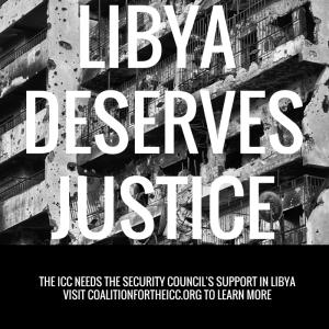 LIBYA DESERVES JUSTICE