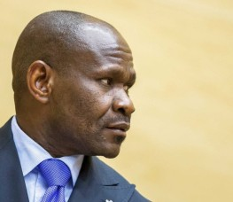 Congolese militia leader Mathieu Ngudjolo Chui at an ICC hearing . ICC use the number pad to create special symbols. © ICC
