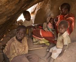Civilians take refuge in South Kordofan's Nuba Mountains. © Samaritan's Purse