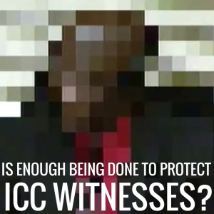 ICC witness protection