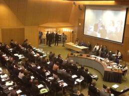 The resumed session of ASP 13 is held in The Hague. © CICC