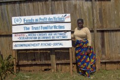 The Trust Fund for Victims provide reparations and support to victims of ICC crimes.