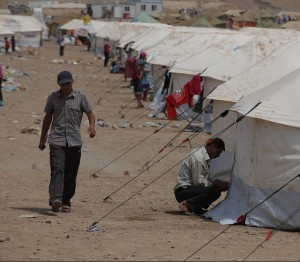 A Syrian refugee camp in northern Iraq. © Flickr/IHH Humanitarian Relief Foundation (Some rights reserved)