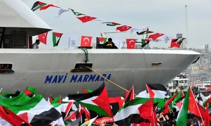 The Mavi Marmara was part of a humanitarian aid flotilla destined for Gaza. © AFP/Getty