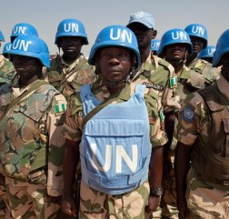 UN peacekeepers. © www.nationalturk.com