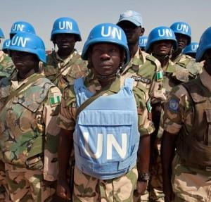 UN peacekeepers. © www.nationalturk.com