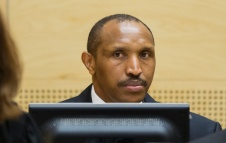 Bosco Ntaganda at his ICC trial. @ ICC-CPI