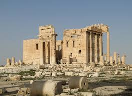 The Temple of Bel in Palmyra. @ Bernard Gagnon