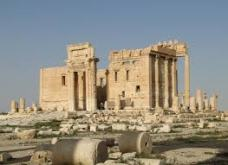 The Temple of Bel in Palmyra. @ Bernard Gagnon