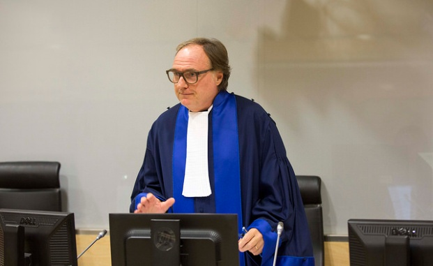 Single ICC judge in the Ahmad Al Faqi Al Mahdi case, Cuno Tarfusser © ICC