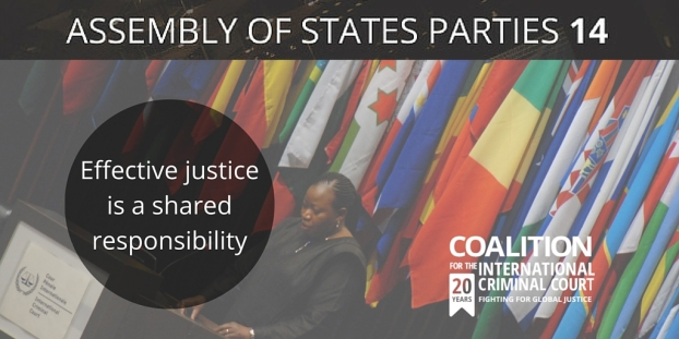 Effective justice is a shared responsibility