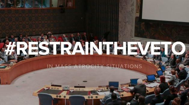 restrain veto blog