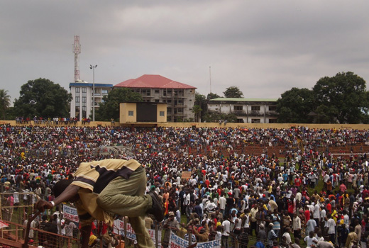Conakry stadium, Guinea © The Observers, France24