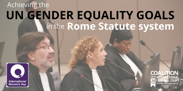 Achieving the UN equality goals through the Rome Statute system (2)